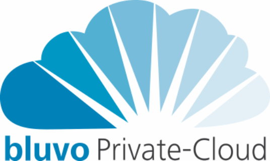 Logo: bluvo Private-Cloud